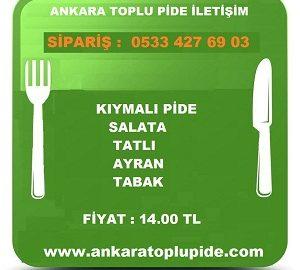 Ankara Toplu Pide İletişim
